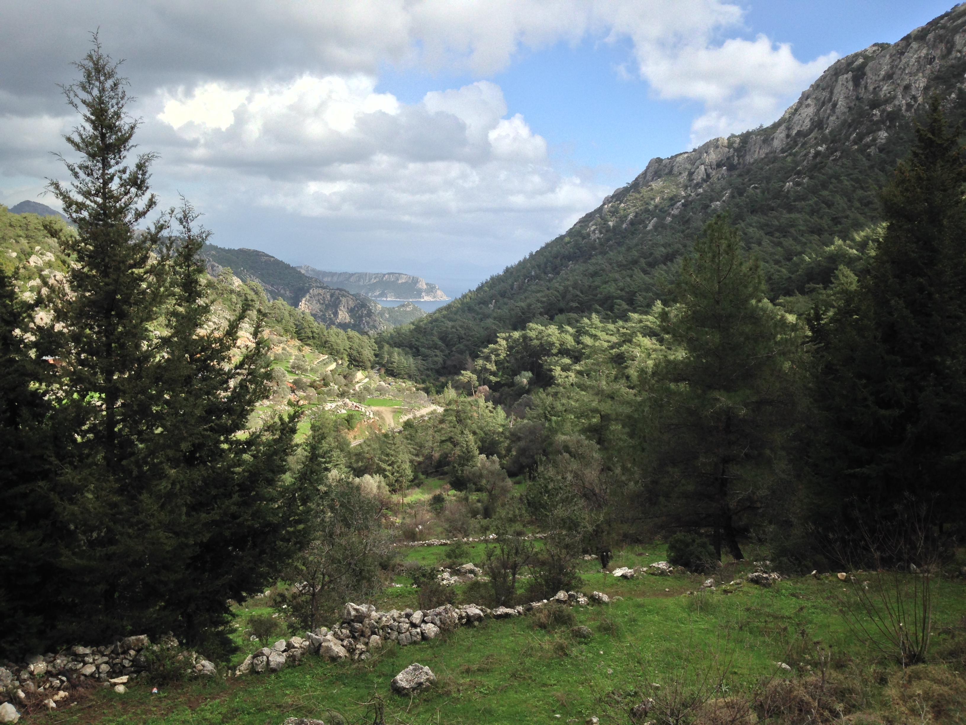 Ciftlic Bay Mountains